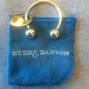 Vintage REED & BARTON Sterling Silver Key Ring